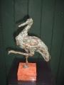 Ooievaar ( brons )